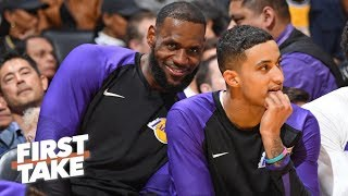 Calm down Lakers fans, LeBron made you relevant again! – Max Kellerman | First Take