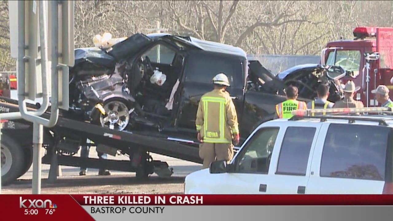 Three dead in Bastrop Co  crash