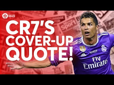 Ronaldo Cover-Up and More Bale Talk, Really? Tomorrow