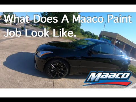 Maaco $599 Car Paint Job Special: What to Expect and Detailed Footage   Review And Footage On A G37s