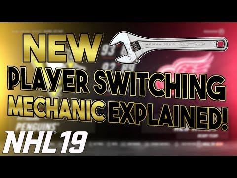 NHL 19: New HIDDEN Player Switching MECHANIC!