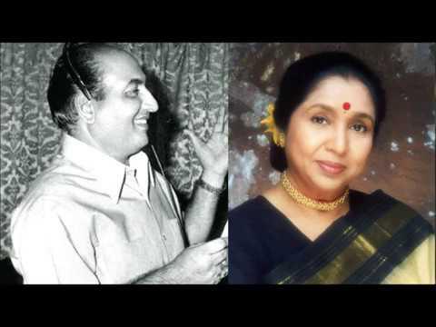 Asha Bhosle and Mohd Rafi_Sundar Hoon Aisi Main and Sundar Ho Aisi Tum (DIL KA RAJA)