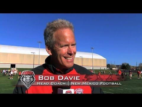 2014 Lobo Football   Coach Bob Davie: Spring Practice #7 Wrap Up