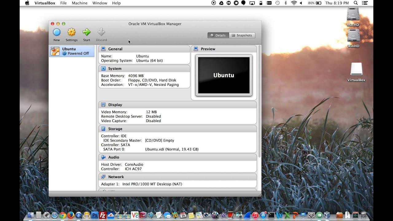 Virtual machine for mac os catalina