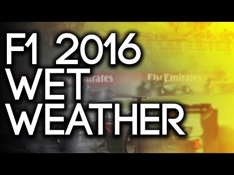 F1 2016 DRIFTING: Heavy Rain Race at Silverstone