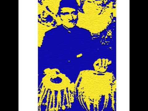 Tabla solo by Ustad Ahmed Jan Thirakwa Solo in Tintal, Live, Kolkata 1973