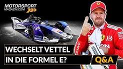 Wechselt Vettel in die Formel E?