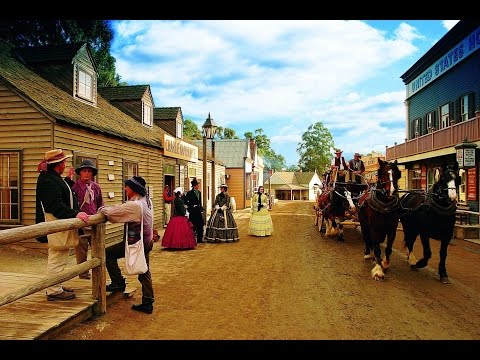 Sovereign Hill, Gold rush City, Ballarat, Australia