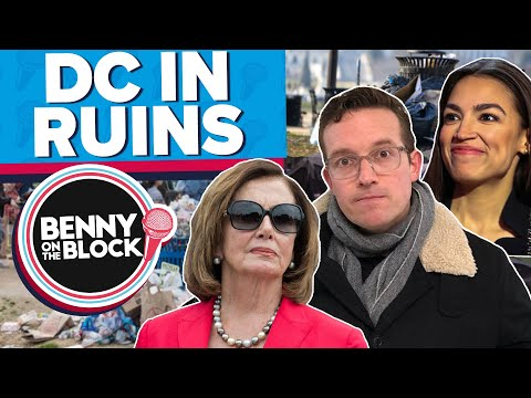 INSIDE DC: A City In Ruins  [Benny On The Block 38]