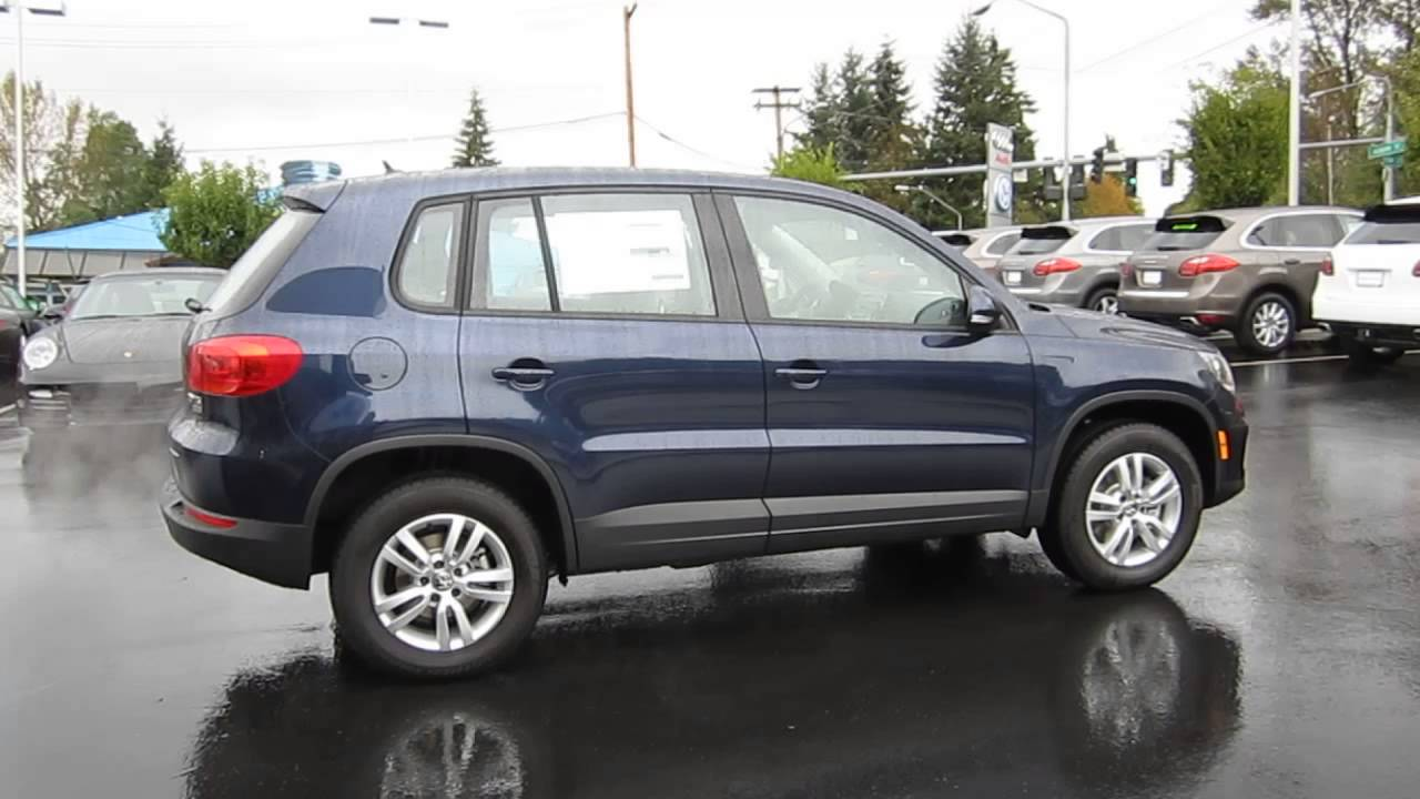 2014 Volkswagen Tiguan Night Blue Metallic Stock