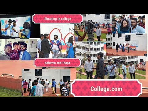 adhavan,thapa--shooting-in-my-college---bloopers-|thala-thalapathy-song-played-by-me|-akil-j