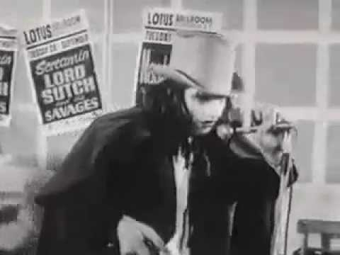 JACK THE RIPPER - Screaming Lord Sutch, 1964 Live Performance
