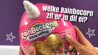 RAINBOCORN? Knuffel uit een ei!
