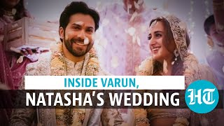 Varun Dhawan, Natasha Dalal tie the knot; actor shares wedding photos