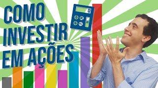 COMO INVESTIR EM AÇÕES NA BOLSA! COMECE A APLICAR SEU DINHEIRO EM RENDA VARIÁVEL - #YubbExplica