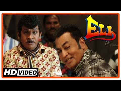 Eli Tamil Movie | Scenes | Vadivelu joins Pradeep Rawat | Shanmugarajan is killed