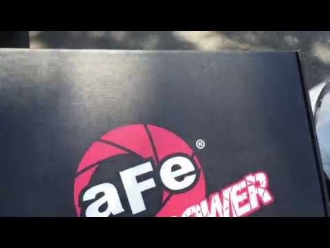 AFE Pro Dry S Filter Install BMW 335i GT N55 + 0-60mph