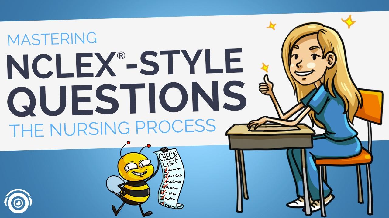 Mastering NCLEX® Style Questions (The Nursing Process) | Picmonic Nursing  Webinar