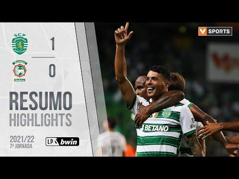 Highlights | Resumo: Sporting 1-0 Marítimo (Liga 21/22 #7)