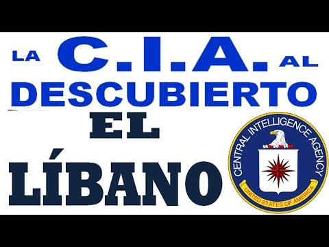 La CIA al Descubierto: El LIBANO