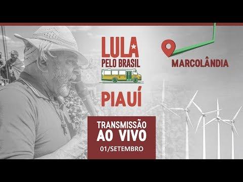 Lula em Marcolândia, Piauí