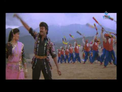 gang-leader-movie-songs---bhadrachalam-konda-song---chiranjeevi,-vijaya-shanthi