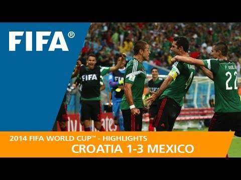 CROATIA v MEXICO (1:3) - 2014 FIFA World Cup™