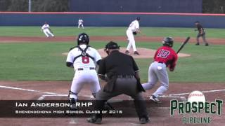 Ian Anderson Prospect Video, RHP, Shenendehowa High School Class of 2016
