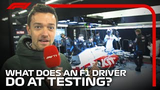 What Does An F1 Driver Do At Testing