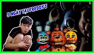 ThắnG Tê Tê Thử Thách 5 Ngày Tại Freddy's | five nights at freddy's 2