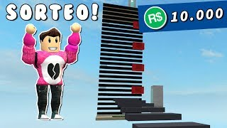 ROBUX SWEEPSTAKE + I CREATE MY OWN TYCOON OBBY Roblox Cerso in Spanish
