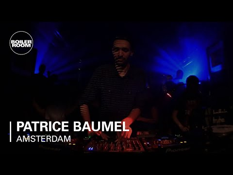 Patrice Baumel Boiler Room Amsterdam DJ Set