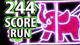 WarioWare: Smooth Moves - Super Hard (244) Score Run