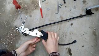 Как снять на Приоре обшивку дверей (задних и передних) с видео