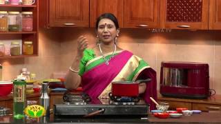 """Sakkaravalli Kilangu Puli Curry & Minaba Kattu"" Arusuvai Neram – Jaya TV cookery program"