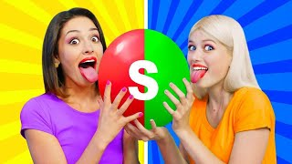 MIXING 10000 SKITTLES INTO ONE GIANT SKITTLE || Funny Rainbow Skittles Challenges by RATATA