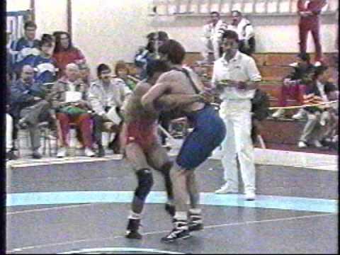 1992 Pan-American Championships: 57 kg Bronze Pedro Maldonado (PUR) vs. Kendall Cross (USA)