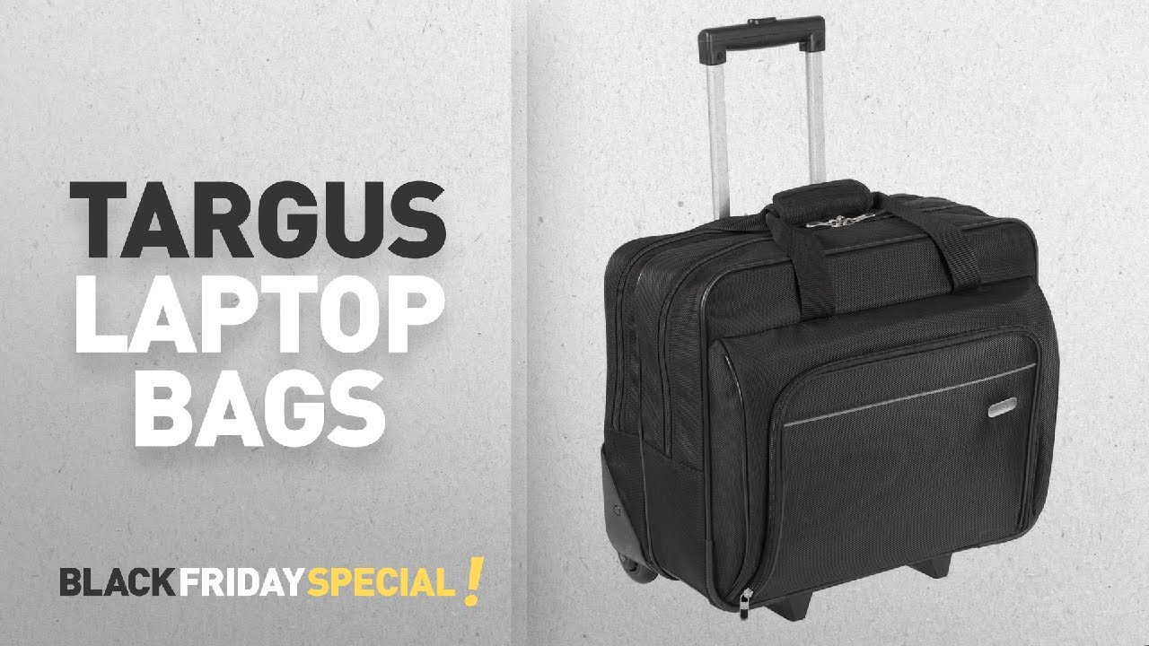 black friday targus laptop bags targus tbr003eu executive laptop roller bag on wheels fits. Black Bedroom Furniture Sets. Home Design Ideas