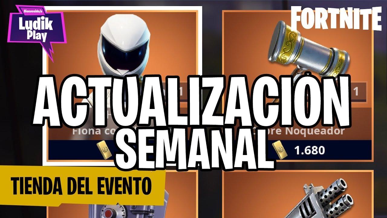 ACTUALIZACIÓN SEMANAL TIENDA DEL EVENTO: FIONA COSECHADORA | FORTNITE SALVAR EL MUNDO | GUIA ESPAÑOL