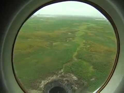 Phát hiện hố khổng lồ thứ hai - nơi tận cùng thế giới (Siberia)