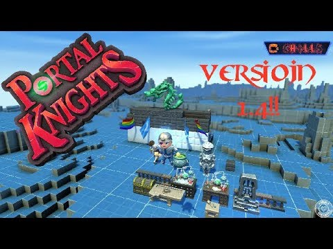 Portal Knights ♥VERSION 1.4!!♥ CREATIVE MODE! FIRST LOOK! New items & custom islands! PC PS4 XBOX