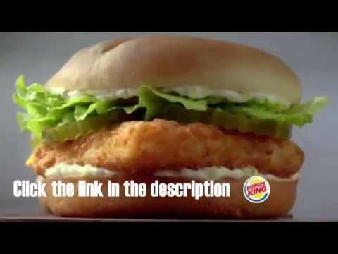 Win a free burger king spicy big fish for a year youtube for Burger king big fish