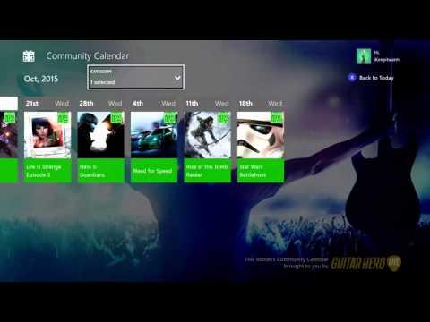 Новые функции для тестеров прошивок Xbox One: «Бета игры и приложения» и «Календарь»