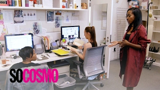Tiffany Reid Struggles to Be a Firm & Likeable Boss | So Cosmo | E!