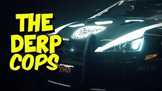 THE DERP COPS! Funny Need for Speed Rivals (Cops, Races, Hot Pursuit)