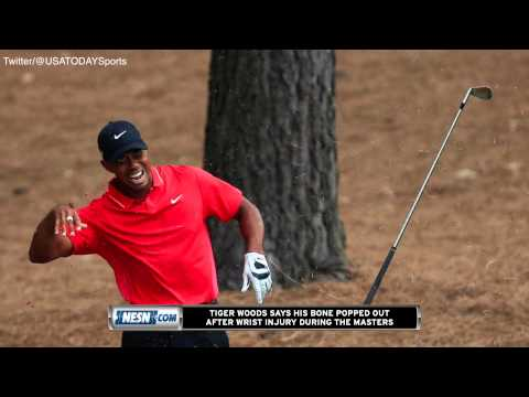 Tiger Woods Says Bone In His Wrist Popped Out During ...