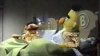 Bert and Ernie Cookies in Bed