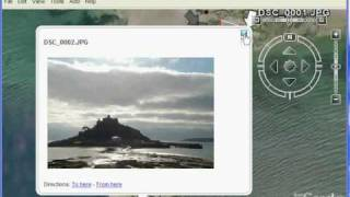 GPS plus compass photographs