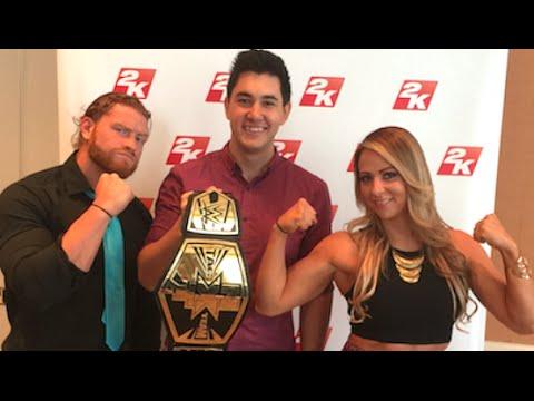 ChampChong vs Emma & Murphy! (Q&A w/ @WWE_Murphy & @EmmaWWE)