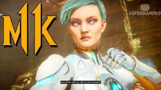 """Frost Makes Him Rage Quit - Mortal Kombat 11: """"Frost"""" Gameplay"""